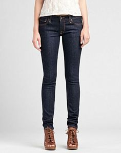 Lola Skinny Jeans by Lucky.  Best jeans I've ever worn, no gap in the back, not too tight, not too baggy.  Perfect!