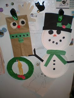 Toddler and Preschool Christmas Crafts