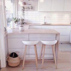 Dekorasyon = Mutluluk!: Bembeyaz evlerin adresi : İskandinav evleri