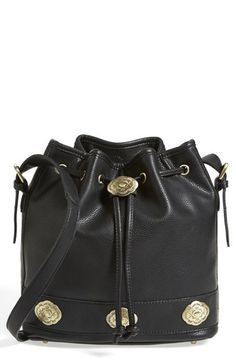 Street Level 'Concha' Faux Leather Bucket Bag available at #Nordstrom