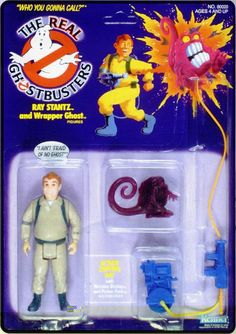 Ghostbusters Toy Archive: Ray Stantz