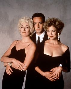 Anjelica Huston, John Cusak and Annette Bening for The Grifters directed by Stephen Frears, 1990