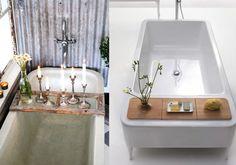 22 Cool Bathtub Caddies For Comfortable Bathing   http://www.designrulz.com/design/2015/07/22-cool-bathtub-caddies-for-comfortable-bathing/
