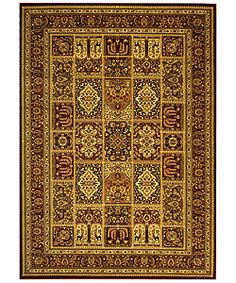 Lyndhurst Collection Isfan Red/ Multi Rug (8' x 11')