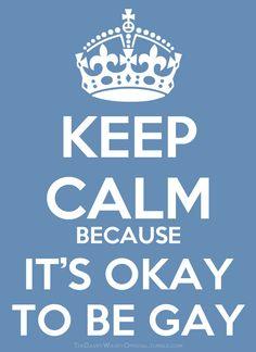 Keep Calm because...
