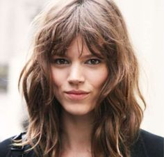 This rock chick chic 'do is known as the shag, and searches for it are up 37%. - Total Beauty / Pinterest