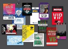 """When you are thinking of name tags or laminated badges, the boring """"Hello, I am"""" stickers will come to mind. Kiss Stories, Conference Badges, Security Badge, Badge Maker, Creative Names, Plastic Card, Name Badges, How To Memorize Things, This Or That Questions"""