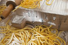 Mi domando io che, sono un professore poco professorale, che cos'è la gloria di Dante appresso quella degli spaghetti? [Giuseppe Prezzolini]  #Poggiolini #pasta #pastafresca #quote