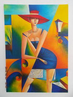 Cubist Artists, Art Deco Artists, Cubism Art, Abstract Drawings, Abstract Art, Pix Art, Pop Art Wallpaper, Surrealism Painting, Arte Pop