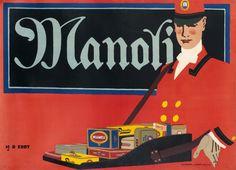 Manoli by Hans Rudi Erdt (1911) | Shop original vintage posters online: www.internationalposter.com