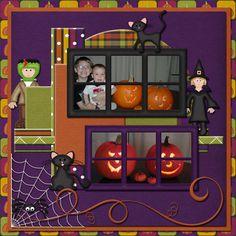 Halloween Pumpkins - Scrapbook.com