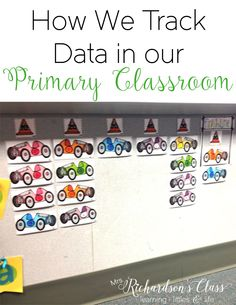 Love these simple ways to track data and make it FUN for my students! Nothing fancy to this--it can be done!