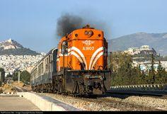 RailPictures.Net Photo: 9102 OSE Hellenic Railways Organization ALCO DL-543 at Athens, Greece by Kostas Kakavas