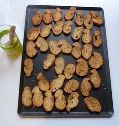 Weekend Project: Toasted Croutons and Bruschetta Bases | Vegetarian Times