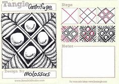 Zentangle pattern Centrifuge