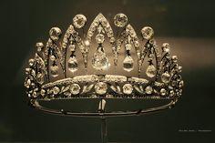 Faberge tiara on show
