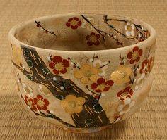 Kyoto laku | Rakuten Global Market: Matcha Bowl plum incense (うめのか) / tea / tea / Tea / Cup / ceremony / Kiyomizu-yaki / Kyoto / Kyoto Japanese tea utensils