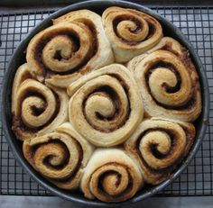 quicker cinnamon rolls - cooks country.  These were great.