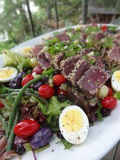 Nicoise Salad with Seared Tuna