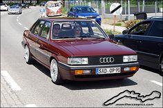 Red Audi 80 B2 | Wörthersee Tour 2013 - www.woertherseepics.… | Retro-Motoring & WoertherseePics | Flickr
