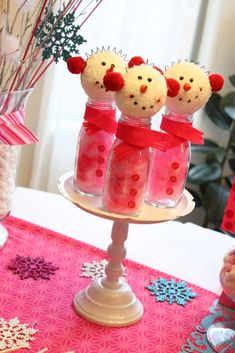 Winter Wonderland Snowflake Baby Shower Party Ideas | Photo 14 of 31 | Catch My Party