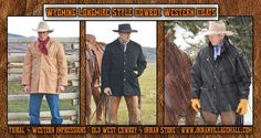 Wyoming Longmire Style Cowboy Western Coats From Tribal And Western Impressions - Old West Cowboy And Indian Store - www.indianvillagemall.com