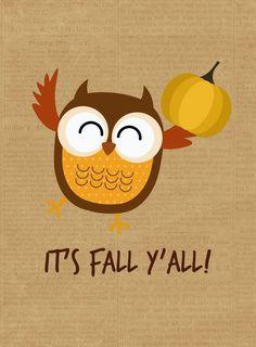 Free Fall {Printables}