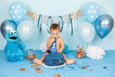 Diy 1st Birthday Cake, Boy First Birthday, Birthday Cookies, 1st Birthday Parties, Monster 1st Birthdays, First Birthdays, Elmo, Baby Deco, 1st Birthday Photoshoot