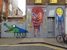 Bault (2016) - Hanbury St, London E1(UK)