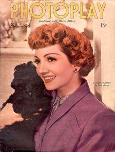 Claudette Colbert - Dec 1945