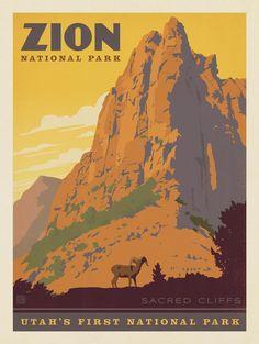 Zion National Park: Sacred Cliffs
