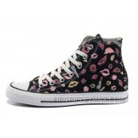 1c9aa9f29bc7 Discount New Chuck Taylor All Star Coco Black CONVERSE Womens Lipstick Lips  Print Canvas