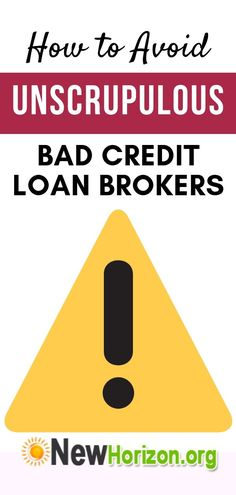 How to Avoid Unscrupulous Bad Credit Loan Brokers Source by letiziaofficial How To Fix Credit, Improve Your Credit Score, Home Renovation Loan, Lending Company, Home Equity Line, To Go, Unsecured Loans, Home Improvement Loans, Loans For Bad Credit