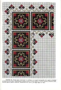 Did you know you can cross-stitch on a Crochet Afghan Tunisian piece as a cross-stitch background? Free Cross Stitch Charts, Cross Stitch Borders, Simple Cross Stitch, Cross Stitch Alphabet, Cross Stitch Designs, Cross Stitching, Cross Stitch Embroidery, Embroidery Patterns, Hand Embroidery