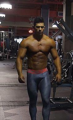 Hunks Men, Hot Hunks, Lycra Men, Lycra Spandex, Gay Costume, Compression Pants, Men In Uniform, Gym Style, Muscular Men