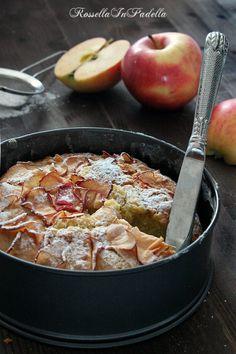 Torta di mele e yogurt soffice