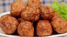 Sweet and Sour Meatballs with Lotus Root (The Perfect Bento Ingredient R...