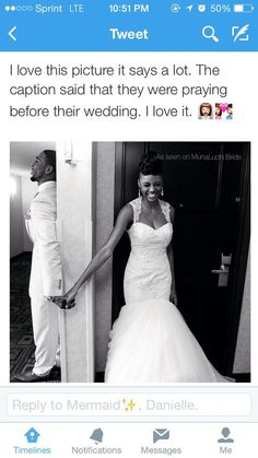 Love this! I hope this happens to me on my wedding day! Marriage Goals, Cute Relationship Goals, Cute Relationships, Life Goals, Football Relationship, Godly Relationship, Black Couples, Cute Couples, Black Love