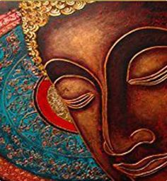 Shop online for handmade painting of buddha at 15% off in India at Kraftly.com…