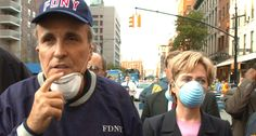 BUSTED: Rudy Giuliani says he never saw Hillary Clinton in NYC on 9/11 — but pictures prove he's lying
