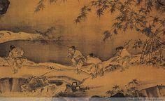 Ma Yuan(馬遠) , 南宋 马远 踏歌图