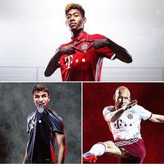 Bayern's 2016/2017 Kits #MiaSanMia