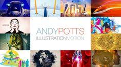 Andy Potts Showreel 2016 Day, Illustration, Illustrations