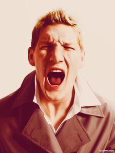 Bastian Schweinsteiger, in,  I LIKE POPSICLES!!!!!