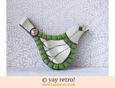 140: Green Susie Mosaic Bird (£15.00)