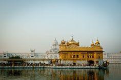 44 lugares lindos para visitar na Índia - Amritsar, Punjab - Templo Dourado