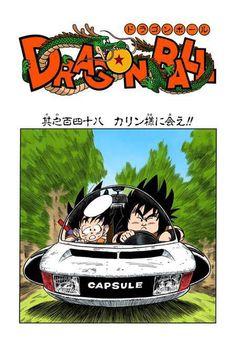 Goku and Yajirobe