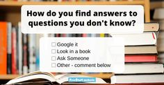 I'm guilty of the over using the Google search. If I don't know something, I usually take to my phone to quickly find the answer. Before the age of Google, I usually asked my dad.
