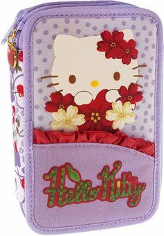a0e5791459 Hello Kitty Cherry Land Κασετίνα Διπλή-Λιλά (169333)