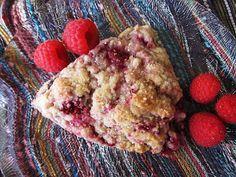 Double Berry Crème Fraîche Scones